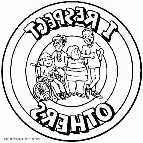 respect coloring pages free coloring home