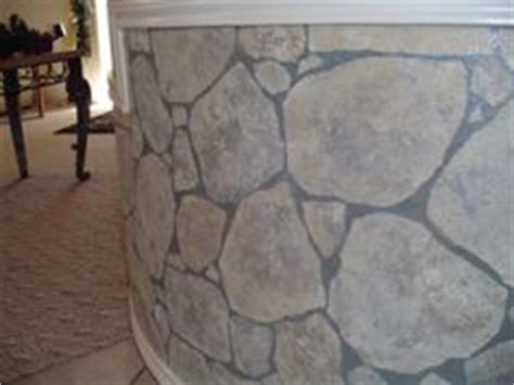 how to paint faux rock wall 1000 images about faux rock walls on faux