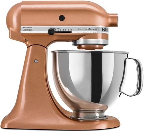 Custom Kitchenaid Stand Mixer by Kitchenaid Custom Metallic Series Stand Mixer Ksm152pscp
