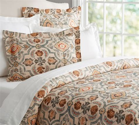 pottery barn bedding sets tenny tile duvet cover sham pottery barn