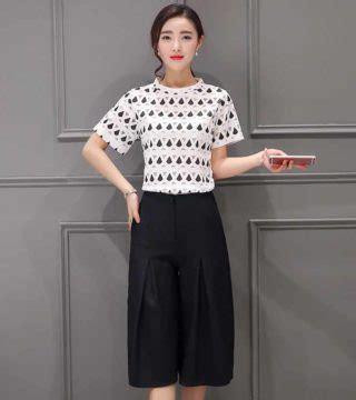 Promo Baju Setelan Korea Celana Panjang Blouse Jaring Import Limited E baju setelan celana kulot murah 2017 model terbaru jual murah import kerja
