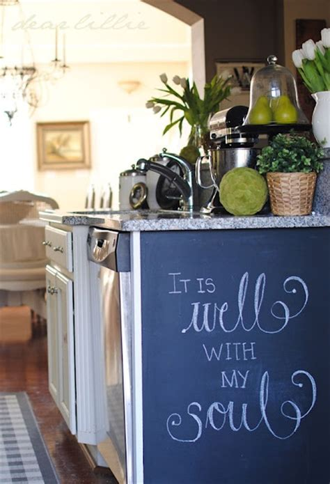 Chalk Wall Kitchen by Chalkboard Wall In The Kitchen Cool For The Home