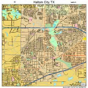 haltom city map 4831928