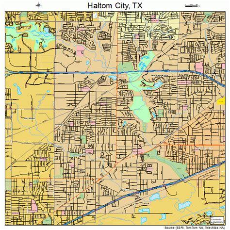 where is haltom city texas on the map haltom city texas map 4831928