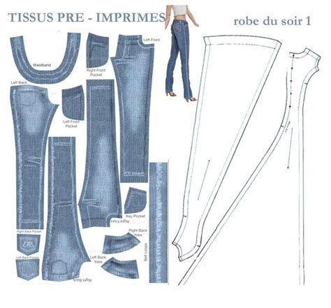 pattern for jeans jeans pattern sewing tutorials clothing pinterest