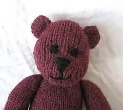 Handmade By Suzanne - ravelry baxter machine knit teddy pattern by suzanne
