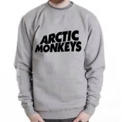 Sweater Hoodie Zipper Artic Monkeys arctic monkeys logo 2 rock band grey heavy blend crewneck sweatshirt ebay