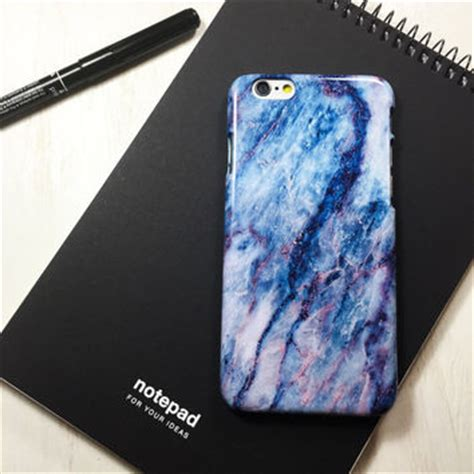 Vibes Marble Blue Iphone 6 6s Plus Casing Cover wood iphone 5 5s 5c wood iphone 6 from usrokey on etsy