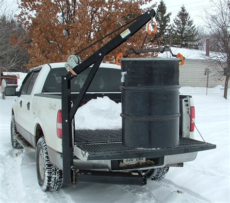 truck bed hoist universal hitch crane free shipping