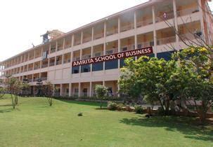 Amrita Mba Ranking by Amrita School Of Business Coimbatore Admission Pgdm