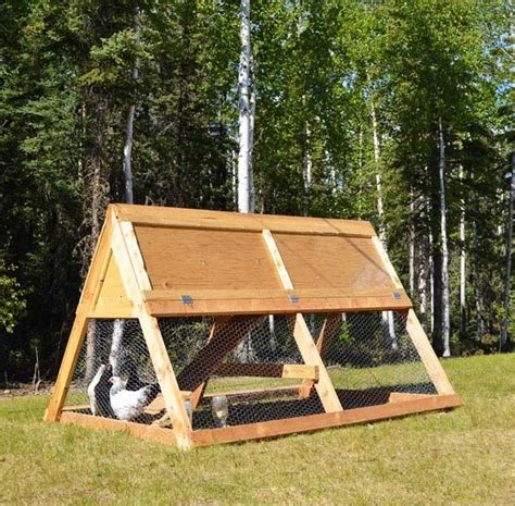 build an a frame 34 diy chicken coop plans that are easy to build 100 free