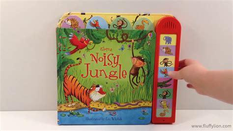 Usborne Jungle Sounds usborne noisy jungle sound book
