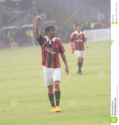 Ac Jakarta italy and ac milan legend paolo maldini editorial photo image 29957106