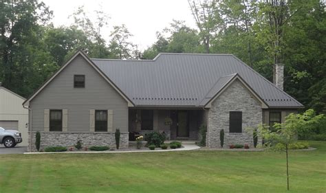 home design exles charcoal grey metal roof best home design interior