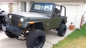 jeep wrangler yj project 6 lift kit installed new tires