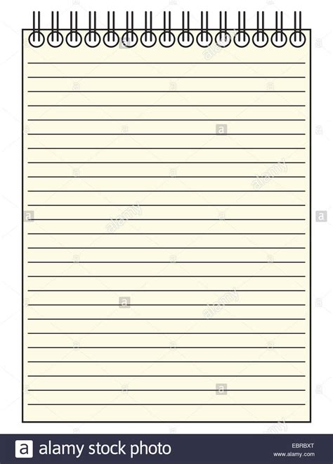 layout html notepad a reporter s lined notepad template or background isolated