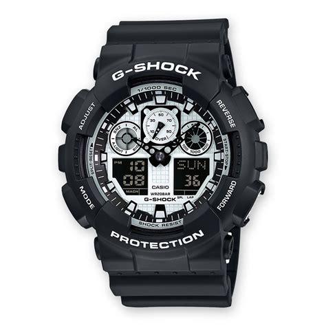 G Shock Ga 100 Oribm ga 100bw 1aer g shock boutique en ligne casio