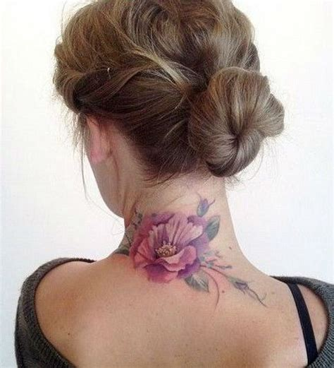 tattoo on neck back side 60 funky neck tattoo ideas to make an exclusive style
