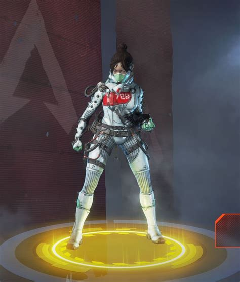 quarantine  skin  wraith  apex legends