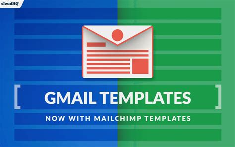 New Import Mailchimp Templates To Gmail Cloudhq Blog Mailchimp Import Template