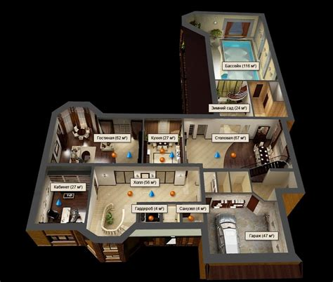House Planning With 3d Floor Plans Compare Old House Design Plan In 3d