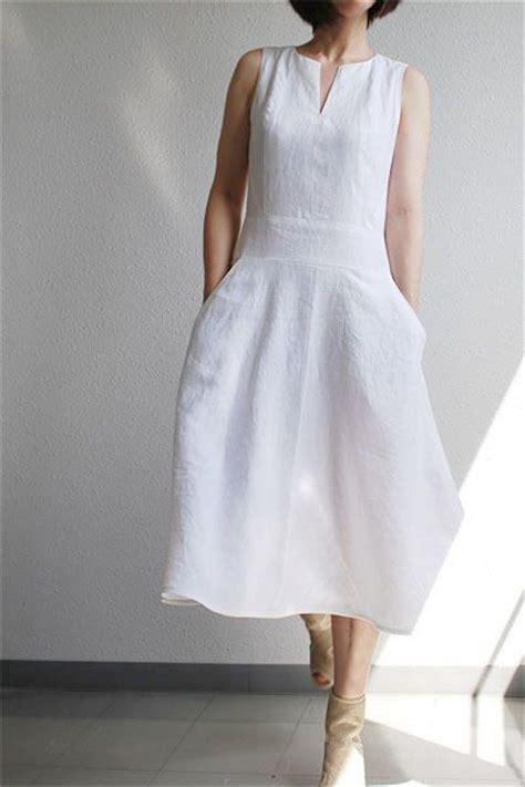 pattern for white dress white linen dress fashion forward pinterest vogue