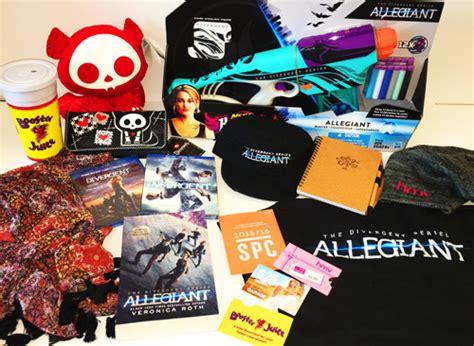 Allegiant Gift Cards - the divergent series allegiant contest faze