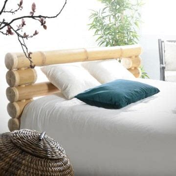 tete de lit zen 2708 t 234 te de lit en bambou chambre zen lit 160x200 c achat