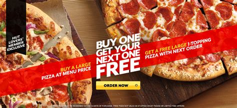Promo Special Hut Ri 1 17 Agust Buy 1 Sandie Free Wallet news pizza hut buy a large pizza at regular price get your next large 1 topping pizza free