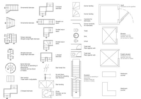Restaurant Floor Plan With Dimensions by Building Design Package Conceptdraw Com