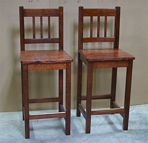 Mission Style Counter Stools by Arts And Crafts Style Counter Stools