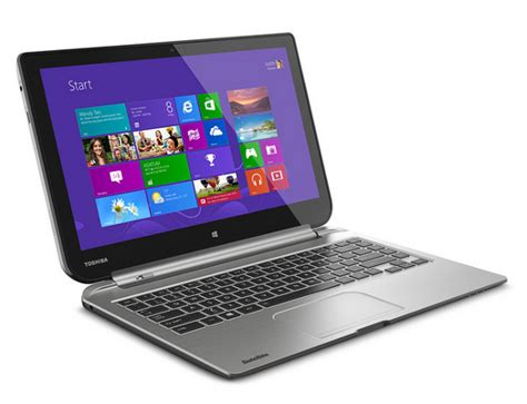 toshiba s detachable satellite click laptop windows 8 1 tablet and small satellite laptop