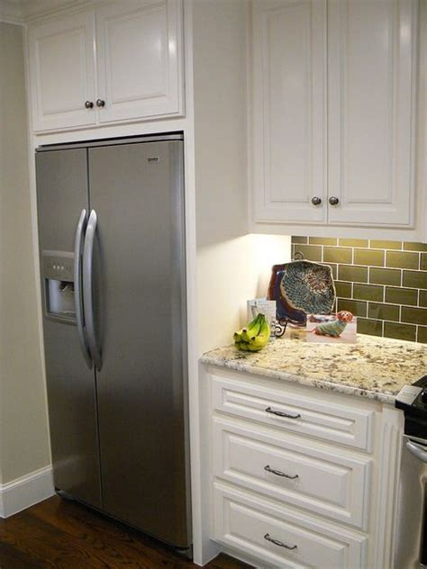 refrigerator built in cabinet 25 best ideas about counter depth refrigerator on