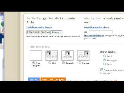 cara membuat hyperlink youtube video cara membuat link text dan gambar blogspot youtube