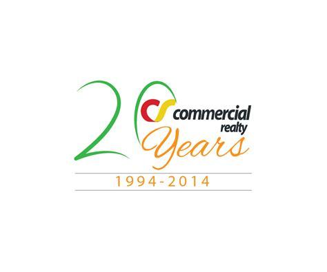 business anniversary letterhead modern bold shopping logo design for 20th anniversary