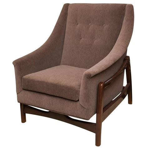 Paoli Furniture by Vintage Paoli Rocking Lounge Chair At 1stdibs