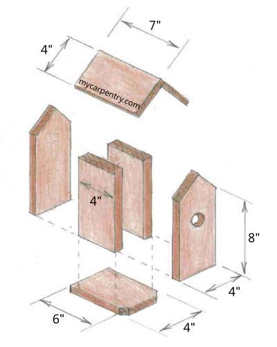 wood  wooden bird houses plans  plans