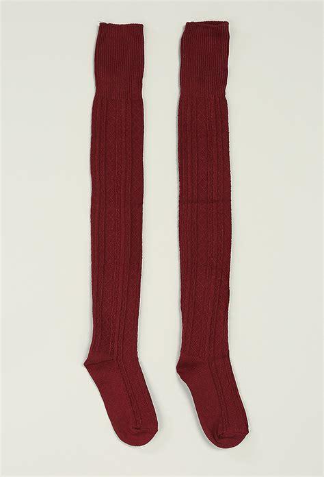knee knit socks the knee knit socks shop socks at papaya clothing