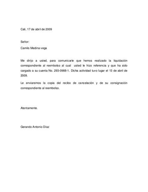 carta solicitud de notas redacci 243 n de cartas