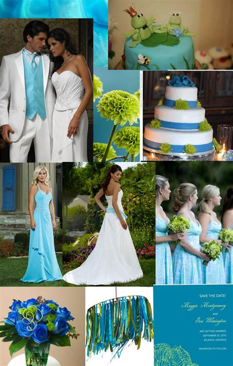 color theme ideas wedding theme emerald and turquoise style fashion celebrities runway