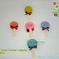 Paket Kotis Permen Flanel towel lollypop souvenir pernikahan