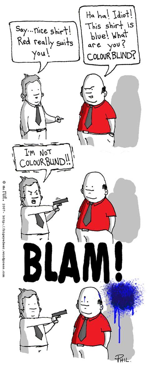 color blind jokes color blind