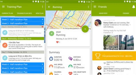 Best To 5k App For Android by Top Running Apps For Android And Iphone Running Shoes Guru