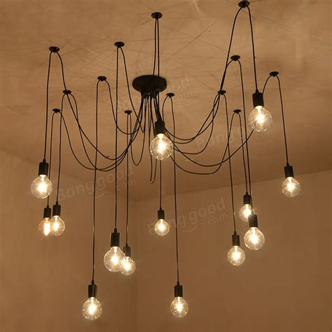 Spider Lights by 14 Lights Edison Retro Spider Pendant Light Lighting Ac