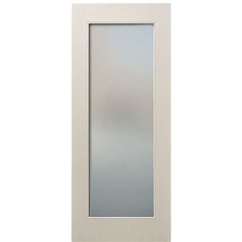 Tempered Glass Interior Doors Escon Doors Mp6001ae Lite Primed White Shaker Style Interior Door With Acid Etched Tempered
