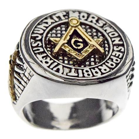 masonic master ring silver rings