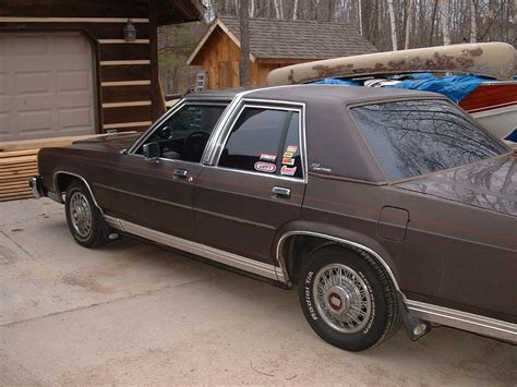 tehbrowncrown 1987 ford ltd crown victoria specs photos modification info at cardomain