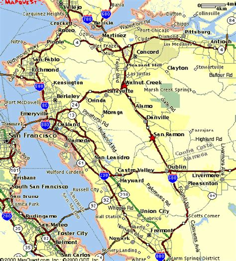 california map east bay east bay images