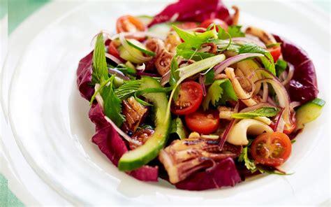 fried calamari salad stir fried calamari salad recipe food to love