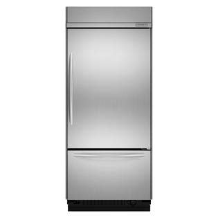 kitchenaid 5 drawer refrigerator counter depth kitchenaid kbrc36fts 20 5 cu ft counter depth built in